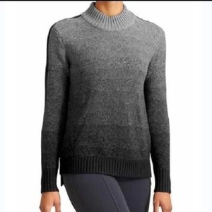 Athleta Merino Wool Ombre Sunset Sweater